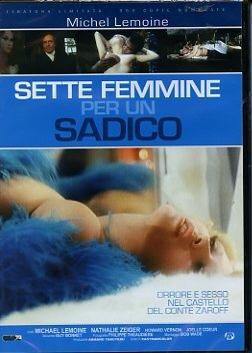 film horror erotico oggettistica sessuale