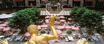 Summer Garden, Rockefeller Center, Manhattan, New York
