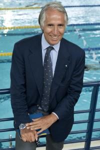 Circolo canottieri Aniene - Giovanni Malagò presenta squadra olimpica e paralimpica del circolo e lancia la sua candidatura alla presidenza del Coni